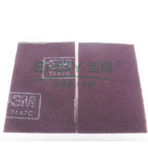 工业百洁布,3M 7447C 150mm*230mm ,60片/箱