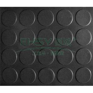 走道垫,大铜钱纹走道垫,1.2m*18m*2mm(宽x长x厚),黑色