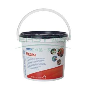 擦拭布,WYPALL 预浸润清洁擦拭布,桶装式 90张/桶  6桶/箱