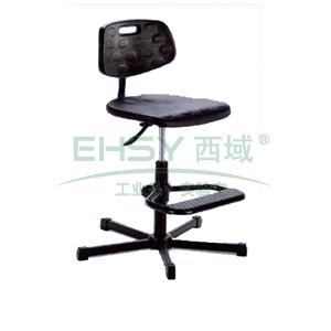 MEY工作椅,聚氨酯坐垫 高度调幅510-770mm 黑色