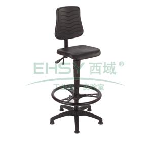 MEY工作椅,黑色 高度调幅640-880mm 带踏环