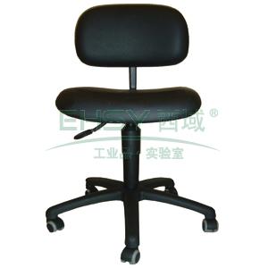 工作椅,MEY工作椅,黑色 高度调幅500-630mm 带刹车的硬地脚轮