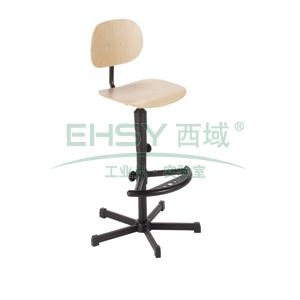 工作椅,MEY工作椅,自然色 高度调幅640-840mm 带脚踏 不可旋转