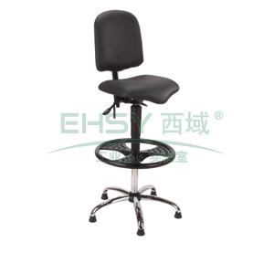 工作椅,MEY工作椅,黑色 高度调幅675-940mm 带脚踏 不可旋转