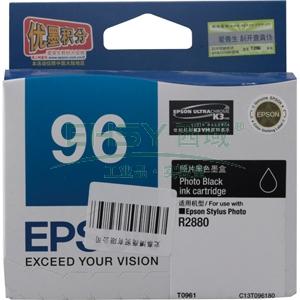 爱普生墨盒,黑色T0961C13T096180(适用R2880)