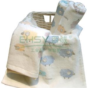 毛巾, 纯棉6953-1# 60x30cm 60g