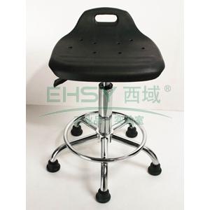 力点 防静电工作凳,PU聚氨酯发泡 调节高度440-580mm(散件不含安装)