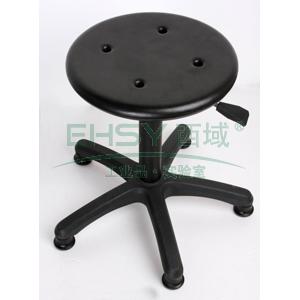 力点 防静电工作凳,PU聚氨酯发泡 调节高度390~530mm(散件不含安装)