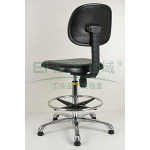 防静电工作椅,人造皮革 调节高度465~605mm(散件不含安装)