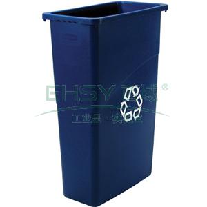环保分类垃圾桶,BLUE
