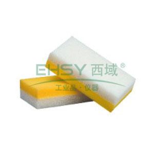 海绵百洁布,3M 6301 7.5CMx14.5CM,8片/包