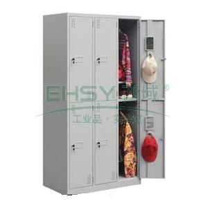 六门更衣柜, 1800×900×500mm,仅限上海地区