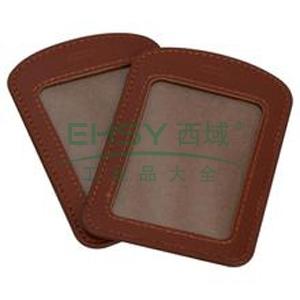 晨光 M&G 竖式皮质证件卡 AWT90992 50只/盒