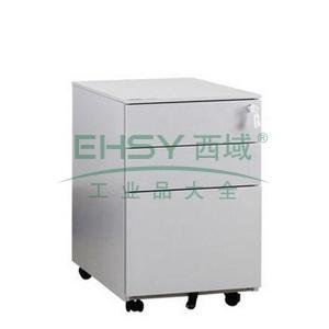 活动柜-hdy3d,420宽*570深*605高,灰白色,0.7mm厚度