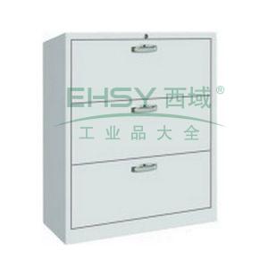 三抽柜,900宽*400深*900高,图片色,0.7mm厚度