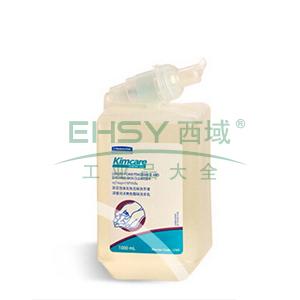 KLEENEX® 舒洁®无色无味保湿泡沫洗手液,1000ml/瓶,6瓶/箱