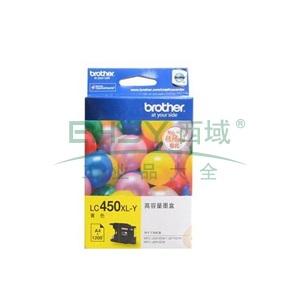 兄弟墨盒,LC450XLY,黄色