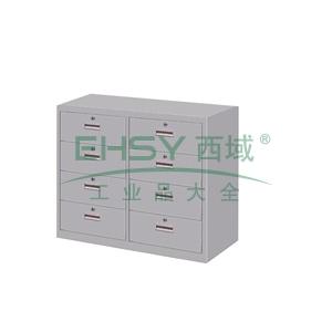 4斗柜,900(W)x400(D)x740(H) 灰白 仅限上海