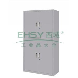 双节开门柜,900(W)x400(D)x1800(H)灰白 仅限上海