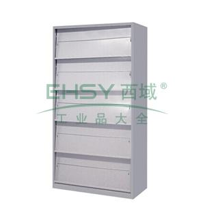 斜体期刊柜,900(W)x400(D)x1800(H)灰白 仅限上海