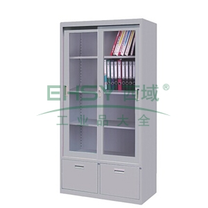 门斗组合柜,900(W)x400(D)x1800(H)灰白 仅限上海