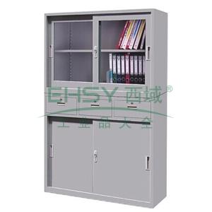 宽理想柜,1180(W)x400(D)x1800(H)(上节740H,下节1060H)灰白 仅限上海