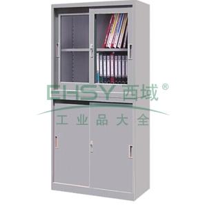 理想组合柜,900(W)x400(D)x1800(H)(上节900H,下节900H)灰白 仅限上海