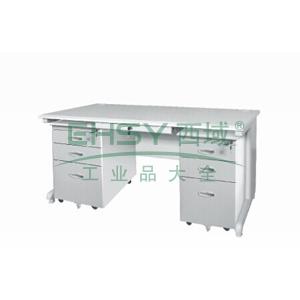 电脑台,1400(W)x700(D)x740(H)灰白色 仅限上海