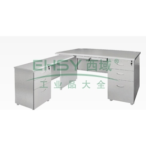 B型主管写字桌,主桌:1600(W)x700(D)x740(H)侧桌:1000(W)x450(D)x740(H)仅限上海