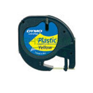 DYMO SC91202易可贴标签带(4m/卷) 标签带 (黄底/黑字)