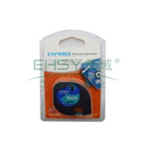 DYMO SC91204易可贴标签带(4m/卷) 标签带 (绿底/黑字)