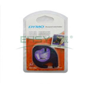 DYMO SC12267易可贴标签带(4m/卷) 标签带 (透明底/黑字)