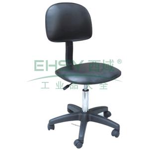 科高 防静电椅,PU皮革,高度可调480-620mm,椅座430X400mm,COS-101