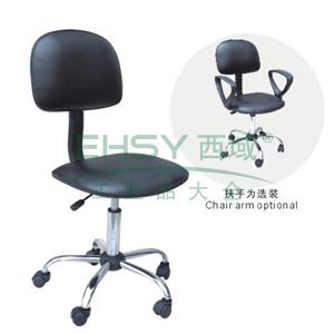 科高 防静电椅,PU皮革,高度可调480-620mm,椅座400X300mm,COS-102