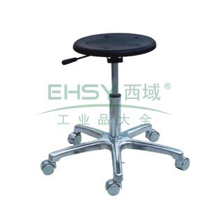 科高 防静电椅,PU发泡,高度可调460-600mm,无靠背,椅座Φ320mm,COS-110