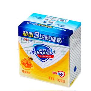 舒肤佳蜂蜜润护香皂,115克X3