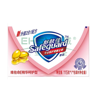 舒肤佳维他命E精华呵护型香皂,115克   82154166