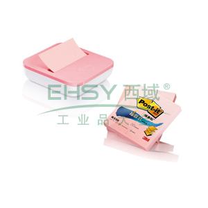 3M Post-it® 便条纸,2+1套装 R330P粉色 100页/本×2本送OL1000,单位:包