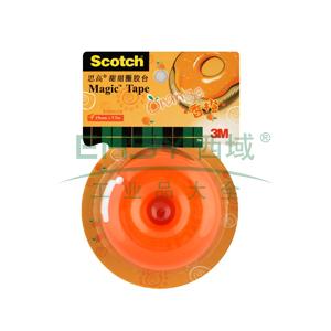 3M Scotch®胶带座,思高甜甜圈胶台 (香橙)