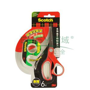 3M思高多用途不锈钢剪刀促销装,1426P(6寸)
