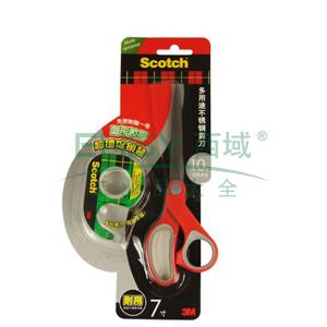 3M思高多用途不锈钢剪刀促销装,1427P(7寸)