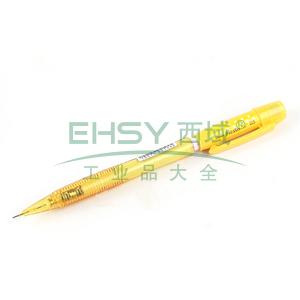 派通自动铅笔,0.5mm AX105C黄色笔杆