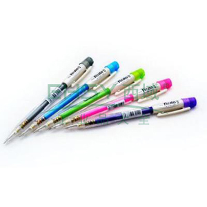 派通自动铅笔,0.5mm AX105W粉红色笔杆