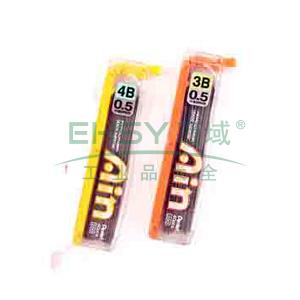 派通铅笔芯,0.5mm C255-4B每管装40支铅芯