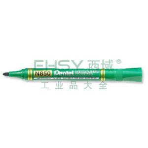 派通 圆头记号笔,N850绿色4.2mm 单支