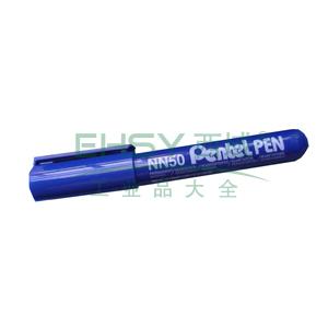 派通圆头记号笔,NN50蓝色5.0mm