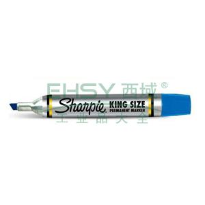 三福方嘴记号笔,5mm-8mm 蓝色