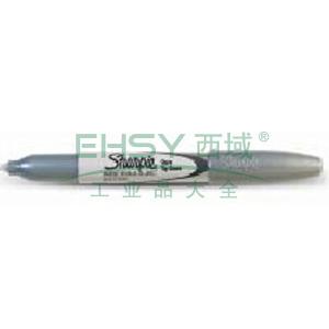 三福金属记号笔,书写宽度1mm 银色