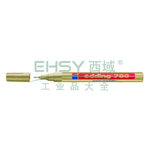 德国艾迪油漆笔,耐高温300度 线幅0.8mm 金色