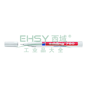 德国艾迪油漆笔,耐高温300度 线幅0.8mm 白色